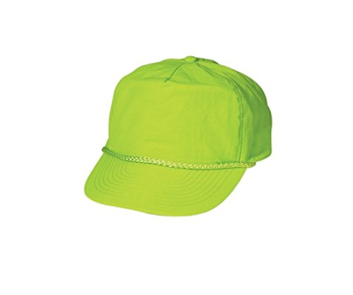 CAMEO Nylon Crinkle Hat, Neon Green, 58 (Cameo Hat)