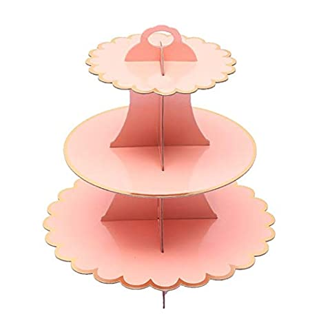 Amazon.com: Cake Decorating Supplies - 3 Tier Foldable Paper ...