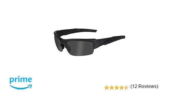 Wiley X - Gafas Protectoras WX Valor, Color Negro Mate, S/L ...