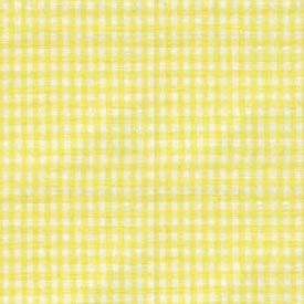 Babydoll Portable Crib Gingham Dust Ruffles, Yellow