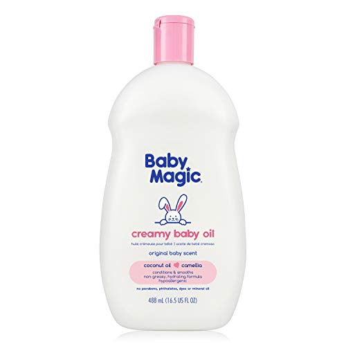 Baby Magic Creamy Baby Oil, Coconut Oil & Camelia Oil, ()