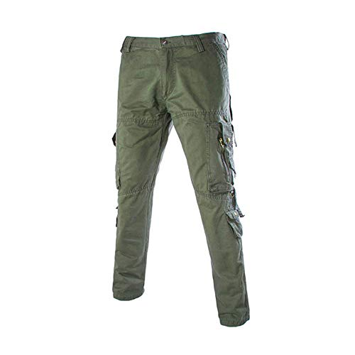 CFWL Multi Pocket Overalls Men's Trousers High Waist Trousers Men High Waist Trousers Women High Waisted Work Trousers…