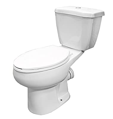 American Elongated Rear Outlet 2 Piece Toilet Kit
