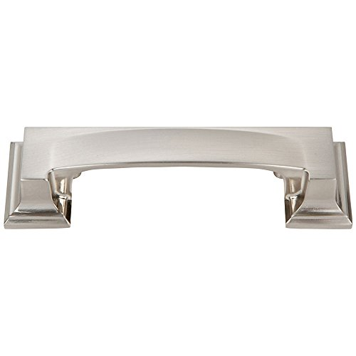 Atlas Finishing Pulls (Atlas Homewares 339-BRN Sutton Place Bin Cup Pull, Brushed Nickel)