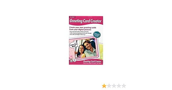 Amazon arcsoft greeting card creator m4hsunfo