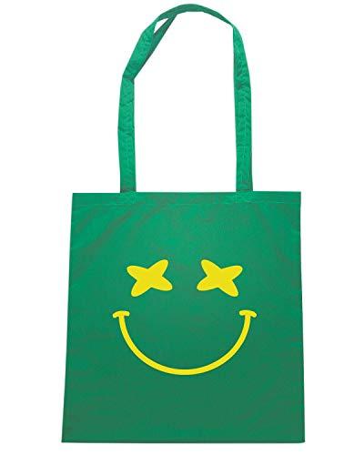Borsa Shopper Shirt FUN0685 Speed SMILEY Verde BAHAMAS 5ECnv4cxqw