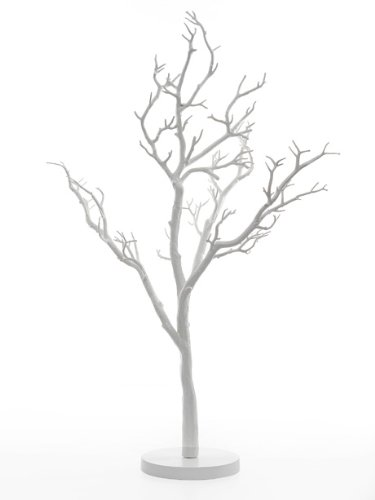 Artificial White Manzanita Wishing Tree Wedding Table Centrepiece 90cm tall