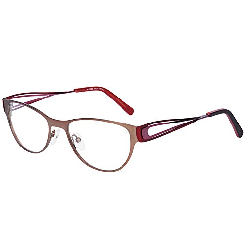FUJUE Unisex Computer Readers Reading Glasses UV Protection,Anti Blue Rays,Anti Glare and Scratch Resistant Lens for All Digital Screens Computer And Game Glasses +0.00 Magnification (C3)