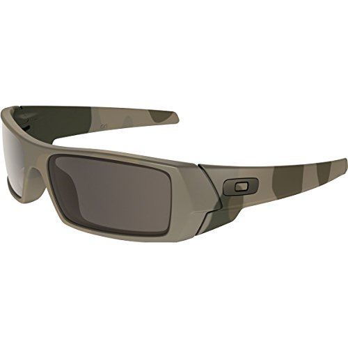 Oakley Men's Gascan Rectangular Sunglasses, Multicam, 60 - Multicam Oakley Sunglasses