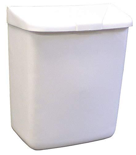 ABS Plastic Sanitary Napkin Receptacle, 11'' Height, 1 EA