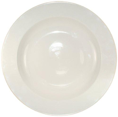 ITI-RO-105 Roma 10-1/2-Inch Pasta Bowl, 17-Ounce, 12-Piece, American White (Bowl Roma Pasta)