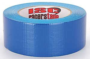 ISC RT2002 Standard-Duty Racer's Tape Roll, 90' Length x 2'' Width, Blue (Case of54) by ISC Racers Tape