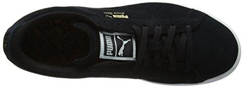 Puma Unisex Adulto Corte Stelle Camoscio Sneaker, Nero Nero (puma Nero)