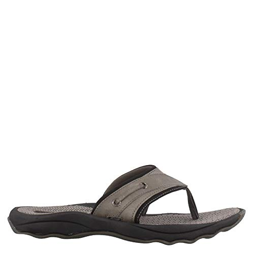 SPERRY Men's, Outer Banks Thong Sandals Gray 10 M (Best Mens Thong Sandals)