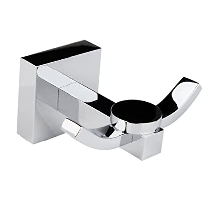 Back To Search Resultshome Improvement Brass Chrome Square Wall Mounted Single Robe Hook Lavatory Ladder Hanger