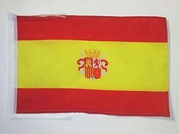 AZ FLAG Bandera de ESPAÑA del Bando SUBLEVADO 1936-1938 45x30cm - BANDERINA Guerra Civil ESPAÑOLA 30 x 45 cm cordeles: Amazon.es: Hogar