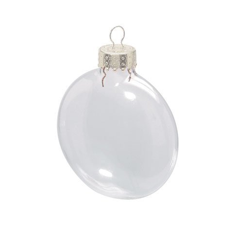 Buy Bulk Darice DIY Crafts Clear Glass Disc Ornaments 3 1/8 Inches X 6 Pieces Per Box X 24 Boxes
