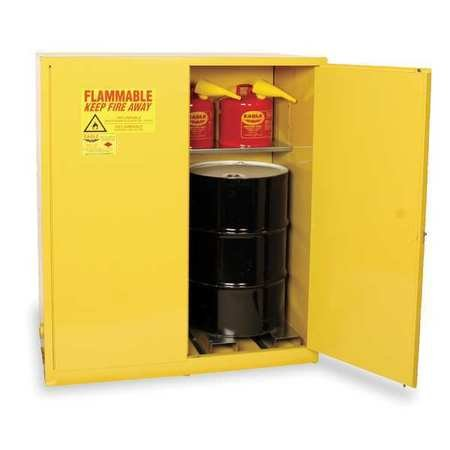 Eagle Vertical Drum Cabinet For Flammable Drums - 58X31x65