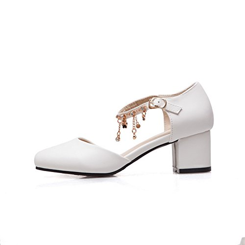 Sandales Balamasa Femme Compensées Balamasa Sandales Blanc wY6xzRSRq