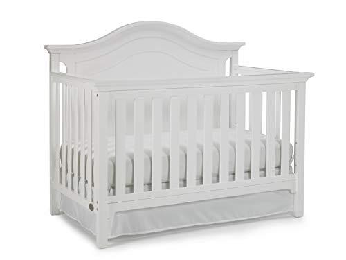 Ti Amo Conklin 4-in-1 Convertible Crib, Frost White