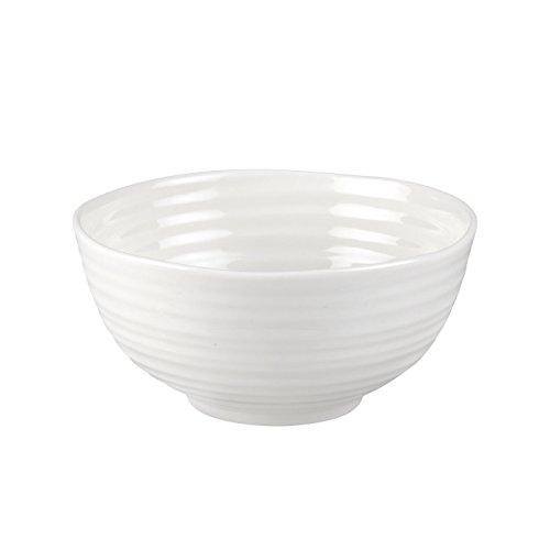 Portmeirion Sophie Conran Bowl, Porcelain, White, 12.8 x 12.8 x 5.8 cm