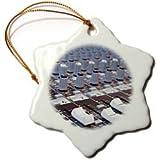3dRose orn_155066_1 Audio Mixer Board Mixing Engineer Knobs...