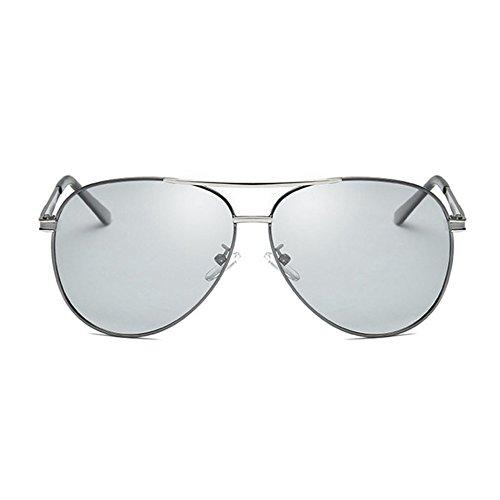 hombres C color Fotosensible gafas doble y día uso Shing Aoligei noche UV sol de polarizado de 6TSUq