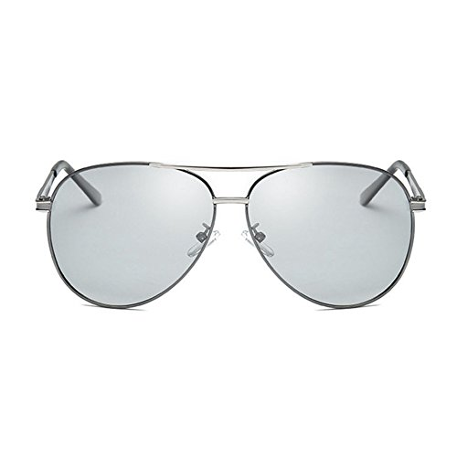 Fotosensible gafas color C de Aoligei Shing hombres noche sol uso UV y día polarizado doble de dP55xBq1