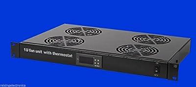 Rack Mount Digital Server Fan Cooling System With 4 Fans 1U