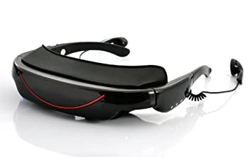 c855783f29 Deluxe Portable Video Glasses with 72 Inch Virtual  Amazon.co.uk ...
