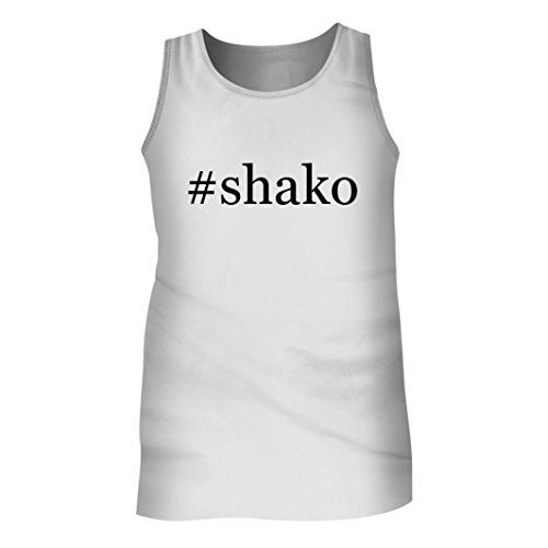 Tracy Gifts #shako - Men's Hashtag Adult Tank Top, White, X-Large