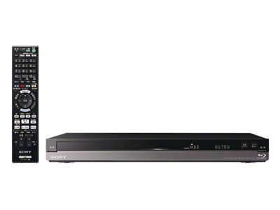 Sony Digital High Vision tuner HDD 500GB Blu ray disk/ DVD recorder BDZ-AT750W