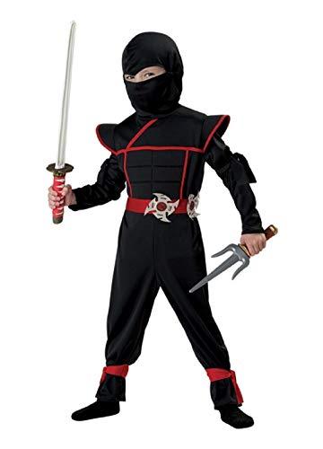 Stealth Ninja Toddler Costume HALLOWEEN Boys Samurai Japanese Adorable for $<!--$54.96-->