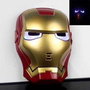 Liotus@ Cool Cosplay Glowing Iron Man Mask W