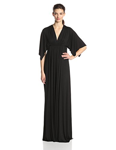 Rachel Pally Women's Long Caftan Dress, black, L