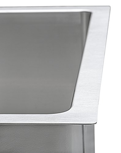 Ruvati 14-inch Undermount 16 Gauge Tight Radius Bar Prep Sink Stainless Steel Single Bowl - RVH7114 by Ruvati (Image #5)