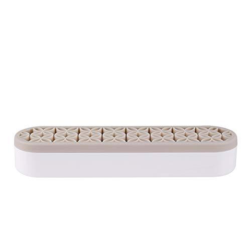 Silicon Sew Store Organizers Cosmetic Storage Box& Desktop Storage Box for Stash and Store (Gray) -