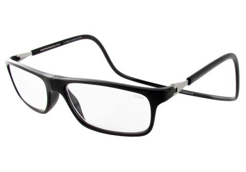 - Clic Magnetic Executive Reading Glasses in Black ; 3.00