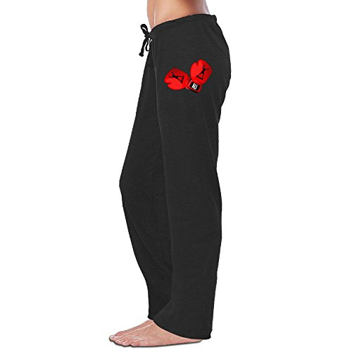 Price comparison product image Nubia Women's Muhammaly Boxing Gloves Sport Gym Pants Black M