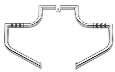LINDBY 102-1/09 Chrome Front Linbar Highway Bar (Fits 1997-2016 Harley-Davidson Flh Touring Models) (Bars Highway Lindby)
