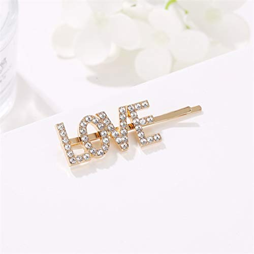 Clearance on Sales  Creative English Alphabet Pearl Hairpin Duckbill Clip Ladies Hairpin Jewelry by Clothful - Mosaic Journal