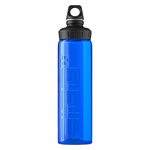 (SIGG VIVA Water Bottle (with Cap), 0.75-Liter, Blue)