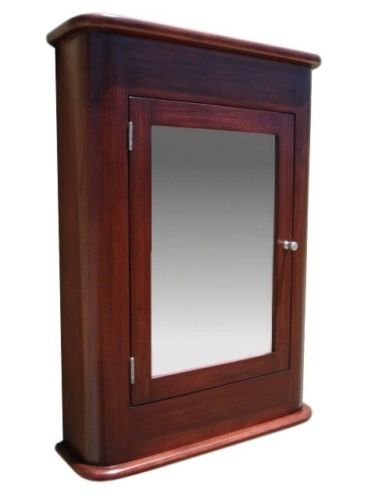 Madrid Medicine Cabinet / Cherry / Solid Wood & handmade / Surface mount by D&E Wood Craft Cabinets (Image #2)
