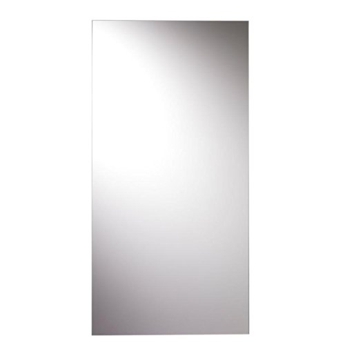 Croydex Kentmere Rectangular Wall Mirror 36-Inch x 18-Inch with Hang 'N' Lock - Mirrors Bathroom Tile Floating Vanity Wall
