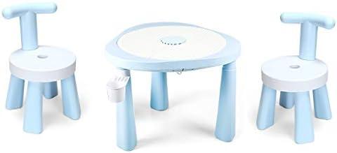 Juego de mesa de plástico para niños de 1 a 5 años, mesa de ...