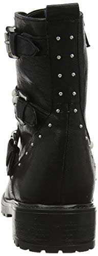 Motardes Risky Black Bottes Noir Dune Black Femme 71qpnH