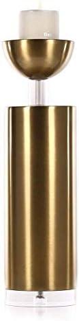クリスマスキャンドルホルダー半球ローソク足金属キャンドルホルダー機能テーブルデコレーション最高の結婚式の誕生日記念日燭台ギフト、ショーPicture2