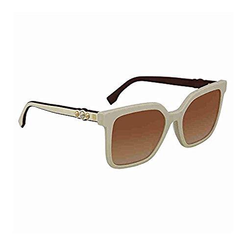 (Sunglasses Fendi Ff 269 /S 0SZJ Ivory / JL brown ss gold lens)