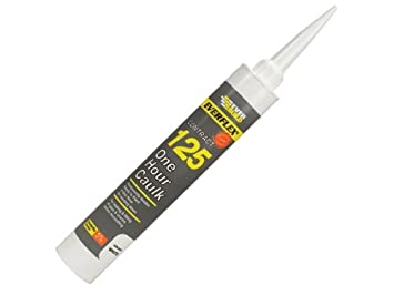 Everbuild 125MAG 310ml One Hour Caulk - Magnolia