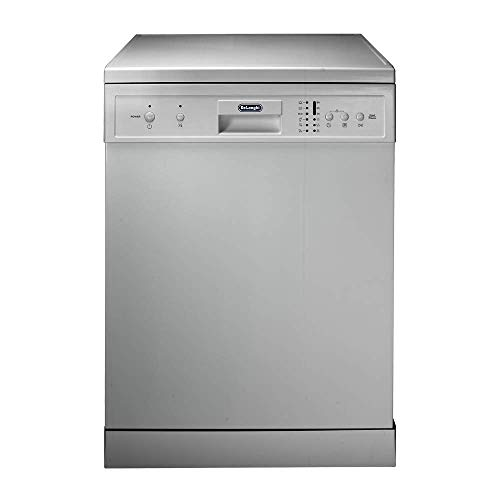Freestanding Dishwasher with Various Options for Inner Space Organizing -6 Automatic Washing Programs -Child Safety Lock – Perfect for crystal and porcelain dishwashing (Silver)